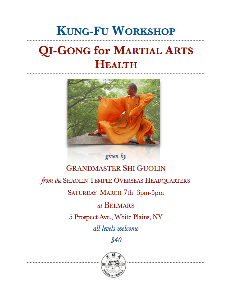 Tai Chi Kung-Fu Workshop