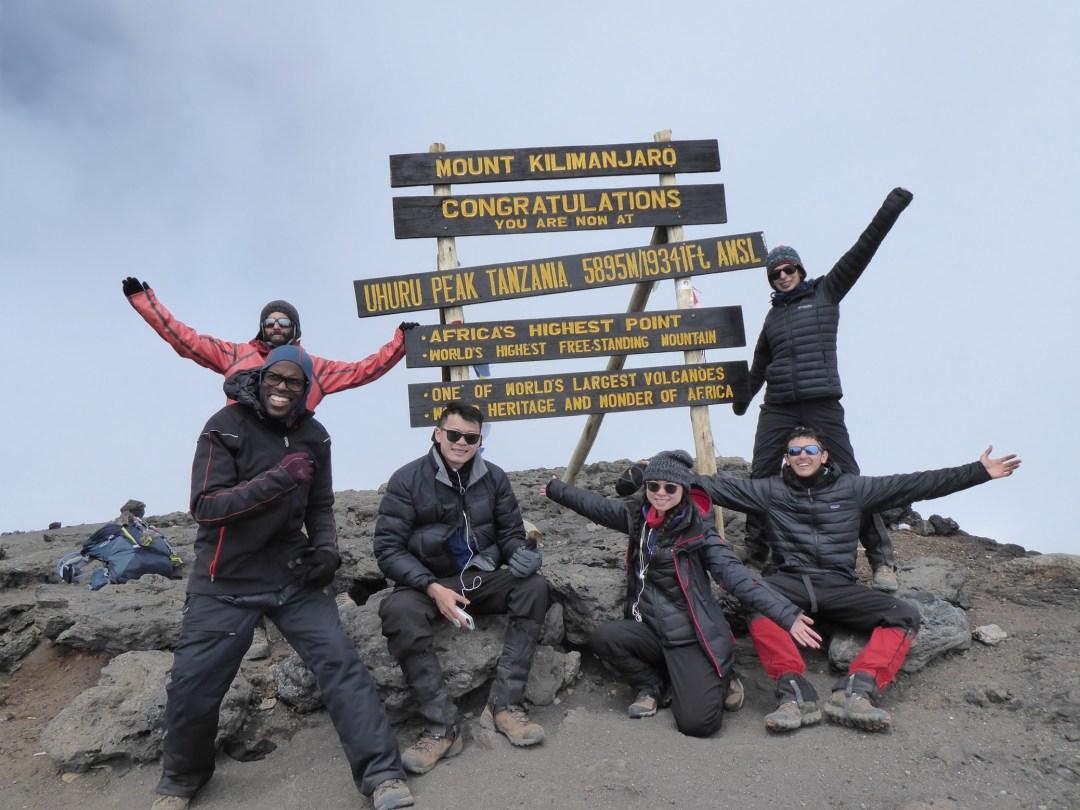 Kilimanjaro-summit