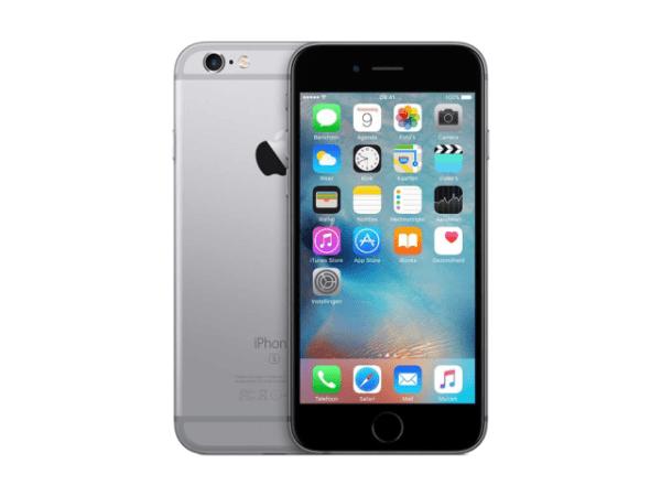 Refurbished iPhone 6S 64GB zwart/space grijs B-grade