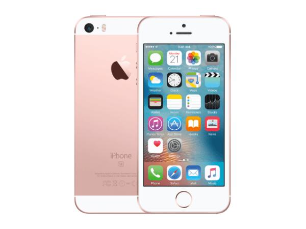 Refurbished iPhone SE 64GB rose goud A-grade