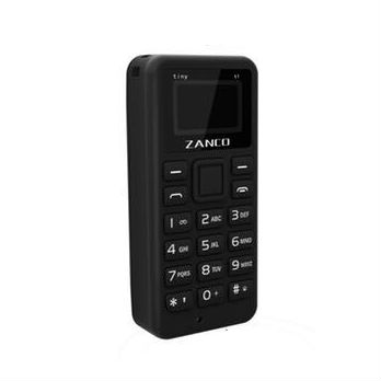 Zanco Tiny Fone Collection Tiny T1 2G (SIMLOCKVRIJ) - Zwart