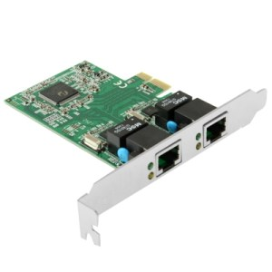 PCI-Express Dual Gigabit Ethernet-controller kaartadapter 2-poorts RJ45 10/100/1000 BASE-T (IO-PCE8111-2GLAN)