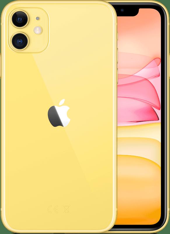 iPhone 11   64GB   Geel   Zo goed als nieuw