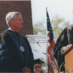 The inauguration of University President Dr. Bob Fisher