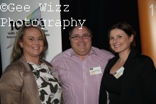 Kym Trezise, Andrew Willoughby& Carly Surtees