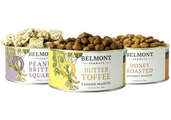 sweet gourmet virginia peanuts sampler