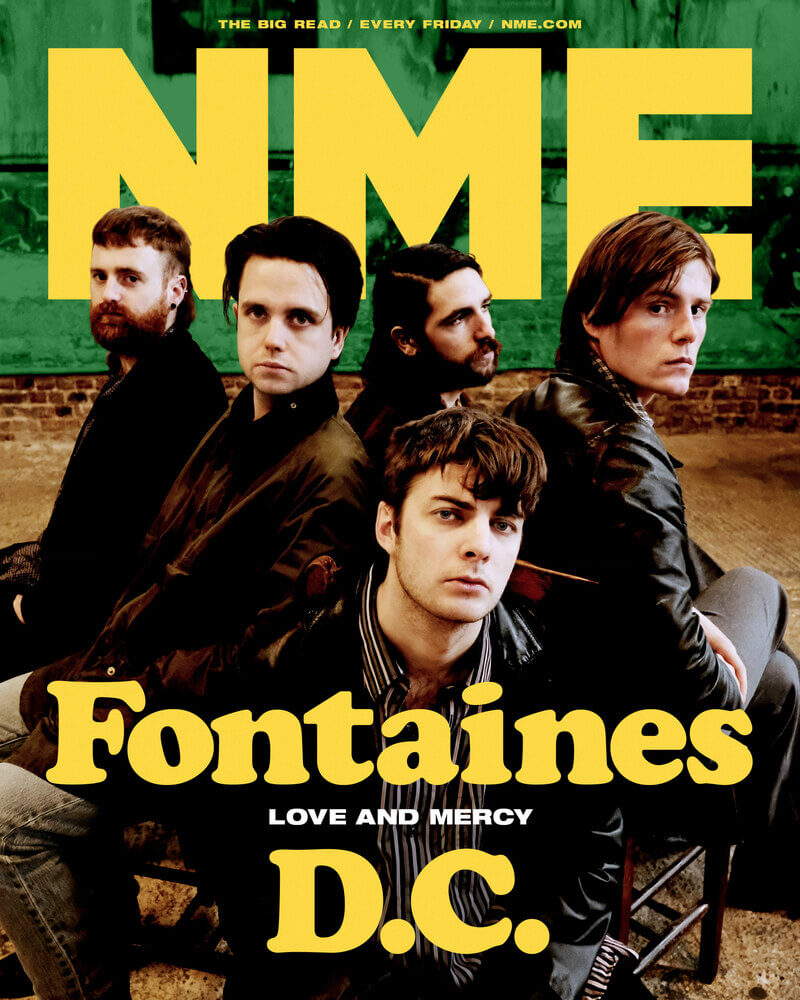 FONTAINES D.C.(NME表紙)