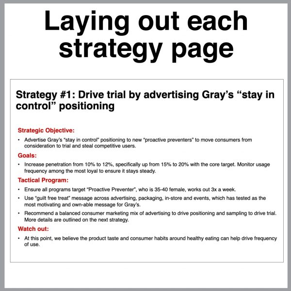 Toolkit strategy page