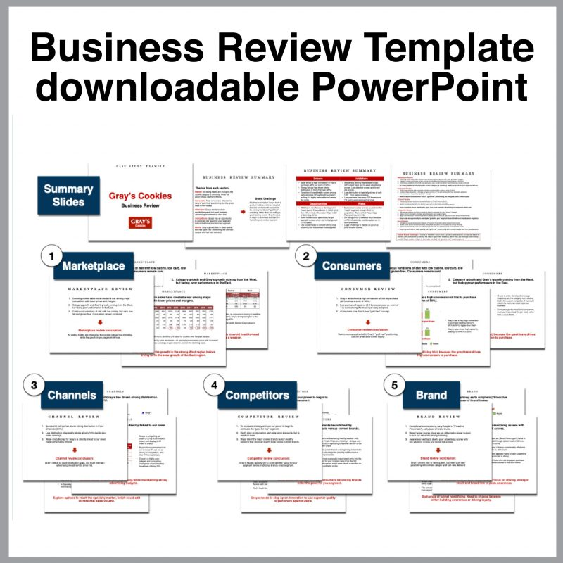 Toolkit business review template