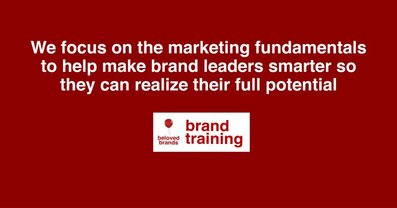 Marketing Excellence Brand Training