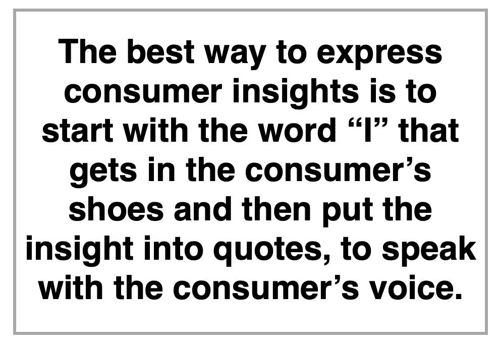 Creative Brief Consumer Insights