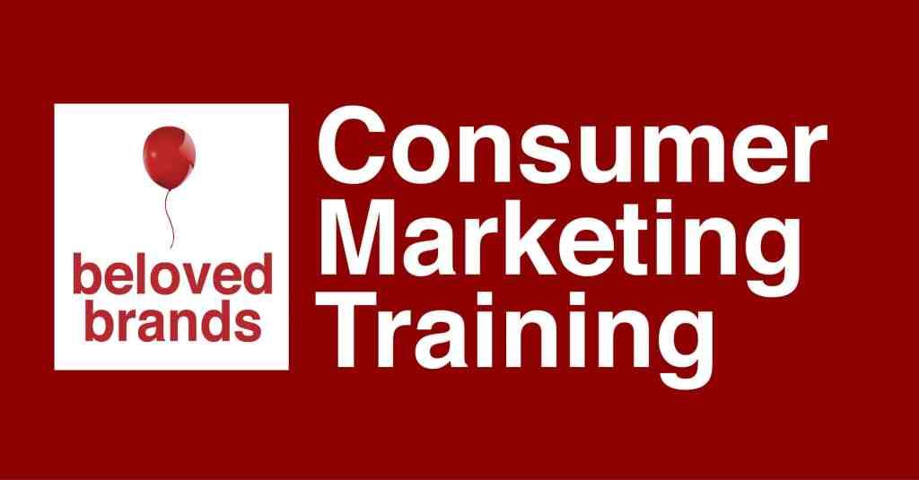 consumer marketing training