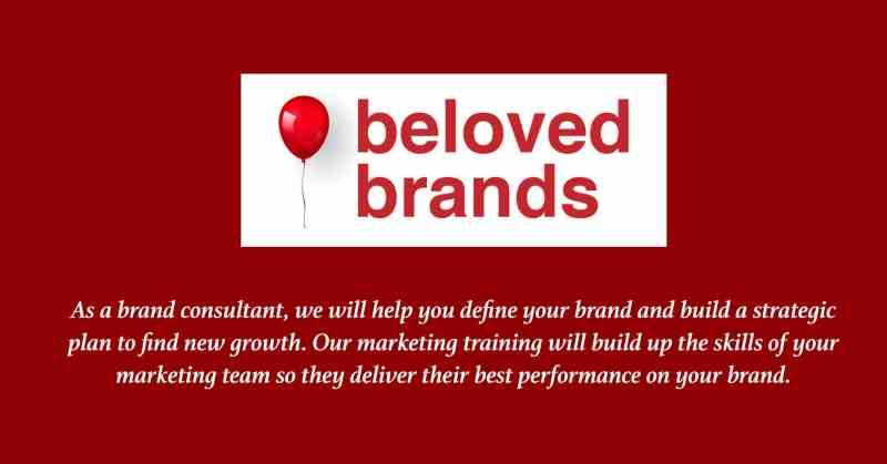 beloved brands marketing training brand consultant