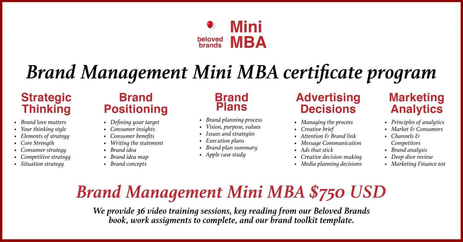 Mini MBA Full Program aug 2021