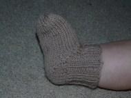 brown baby feet!