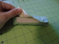 Velcro closure for easy removal