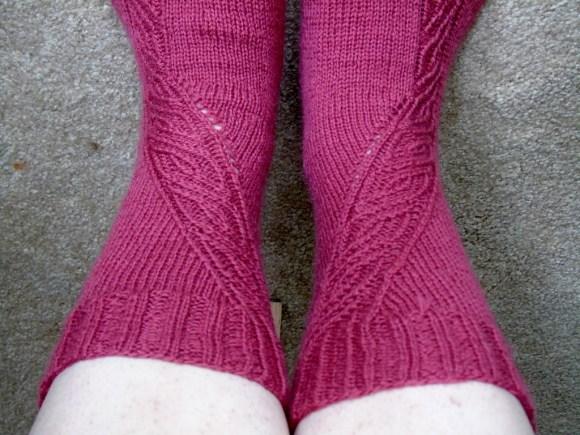 Velocity Socks (cuffs)   Beloved Brown-Eyed Girl