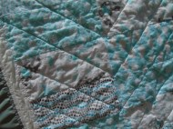 front, quilting