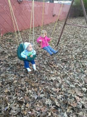 swinging :)