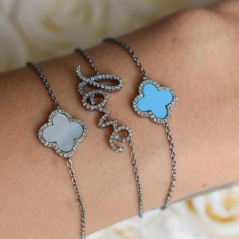 Love Script Chain Bracelet