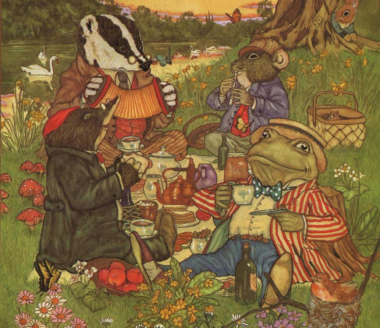 picknicking