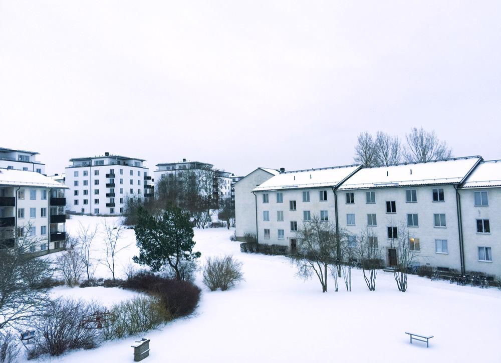 apartment-snow-uppsala