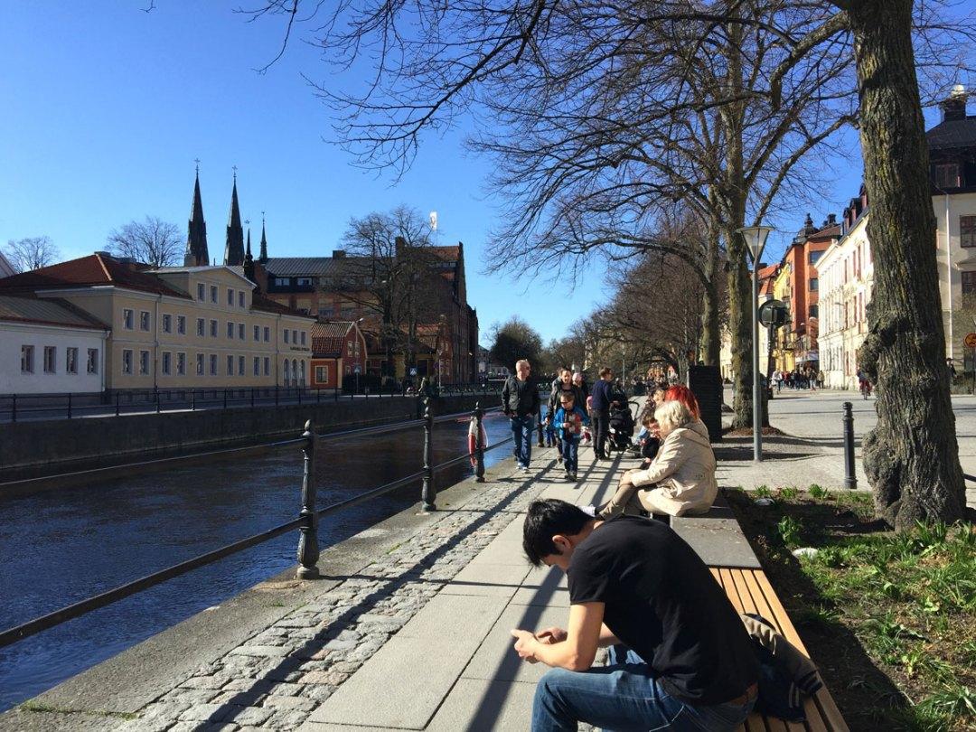 uppsala-spring-river