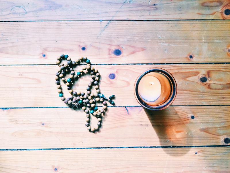 meditate-candle-mala-beads