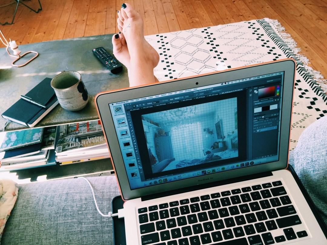 blogging home
