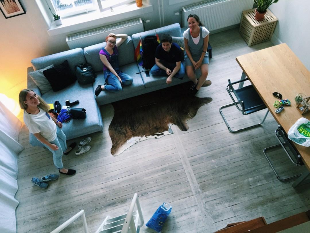 stockholm-pride-parade-friends-family-apartment