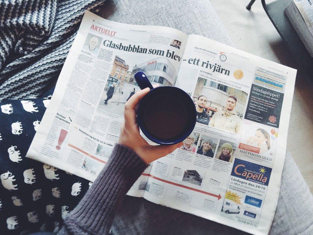 newspaper-coffee
