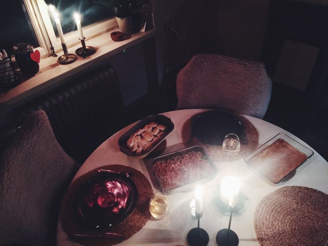 anniversary dinner home