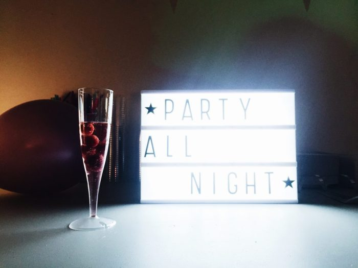 party light box