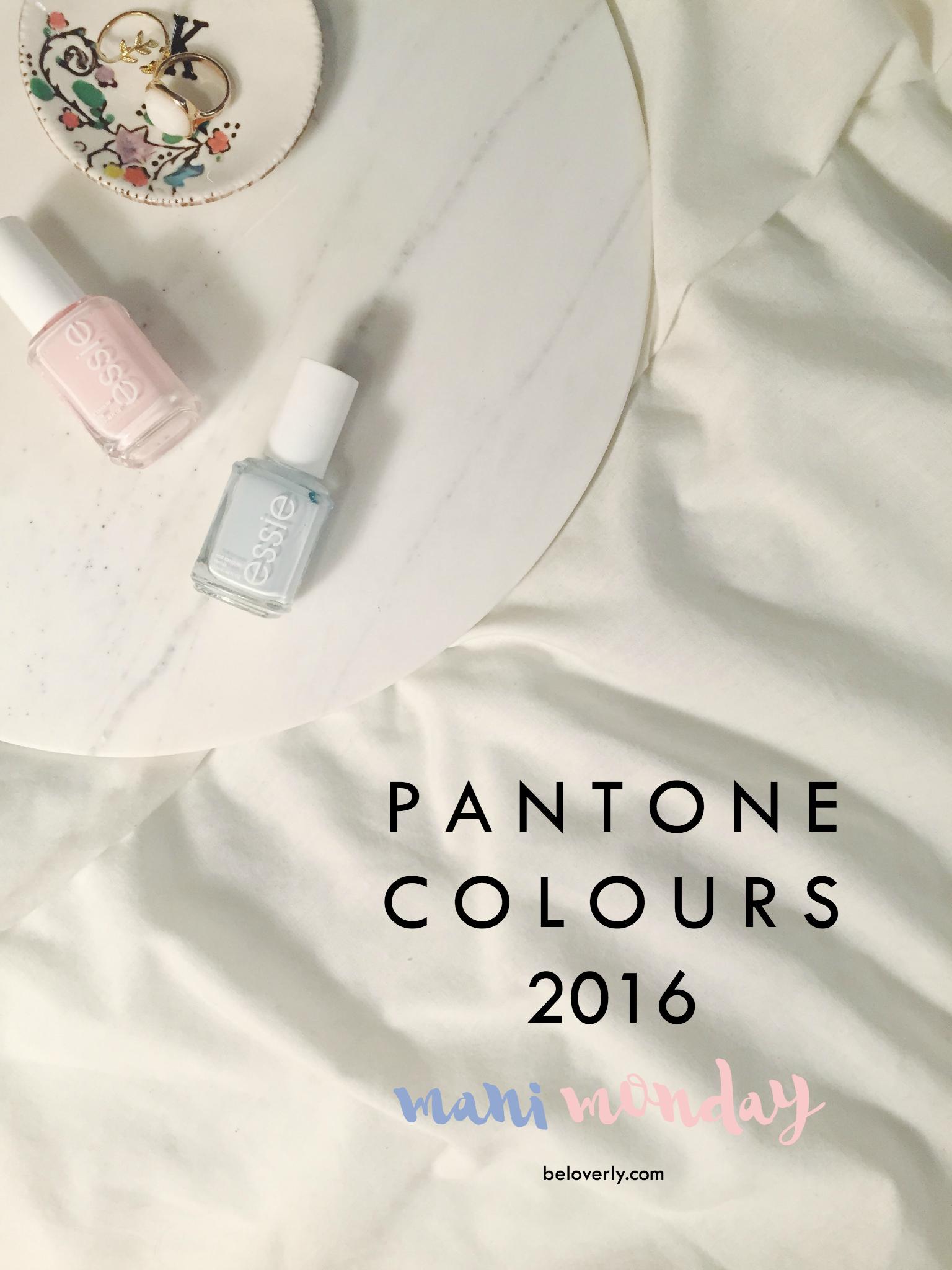 pantonenailcolours