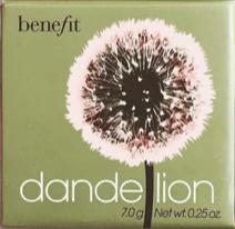 Benefit Dandelion   Below Freezing Beauty