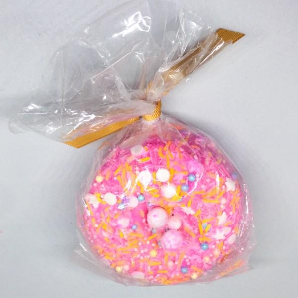 Charmed Aroma Donut Bath Bomb   Below Freezing Beauty