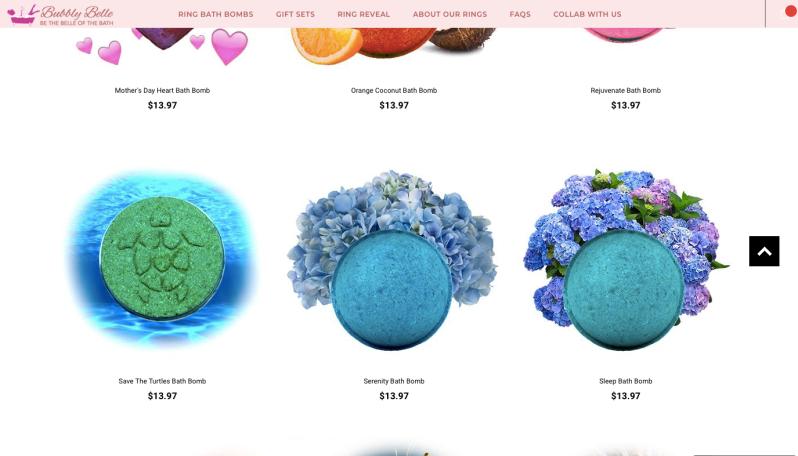 Bubbly Belle Website | Below Freezing Beauty