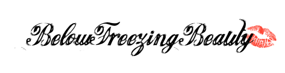 Below Freezing Beauty blog logo 2019