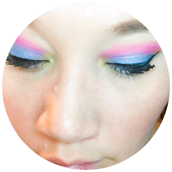 Neon Eye Makeup Trend | Below Freezing Beauty