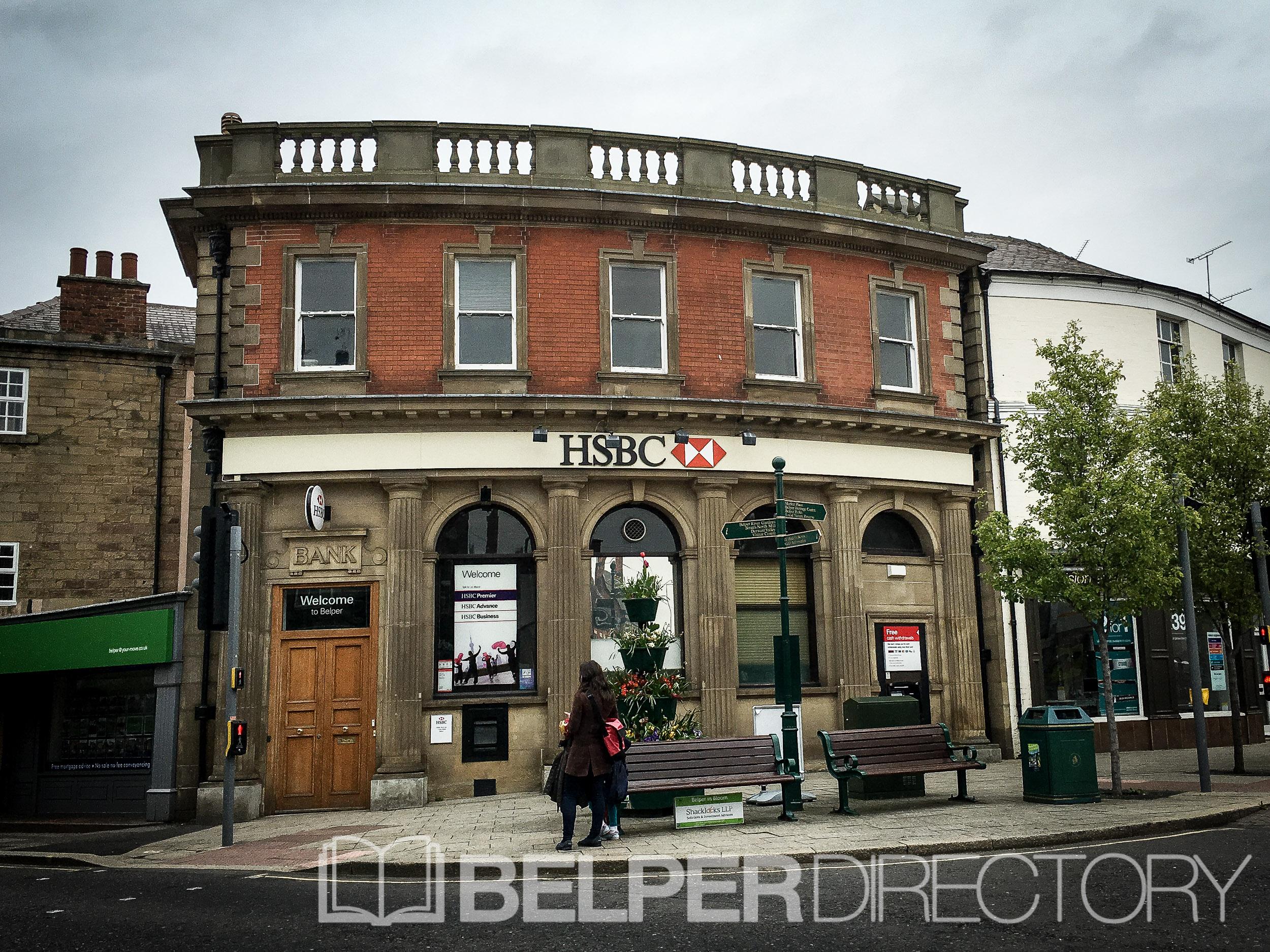 HSBC Bank - Belper - Belper Shop & Business Directory Belper Shop