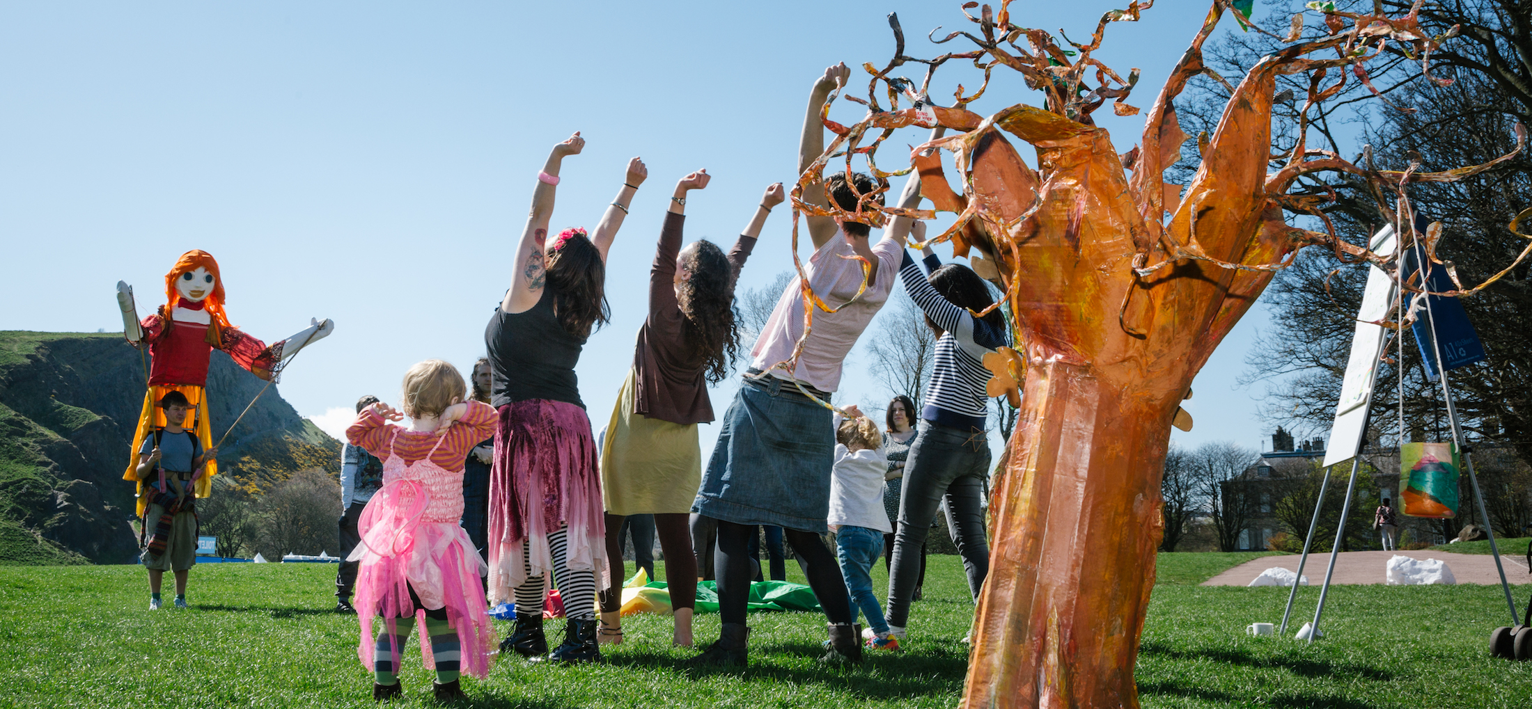 Today's The Day of our Beltane Community Open Day!