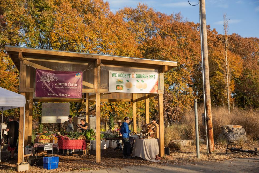 Aluma Farm - Atlanta BeltLine urban farm