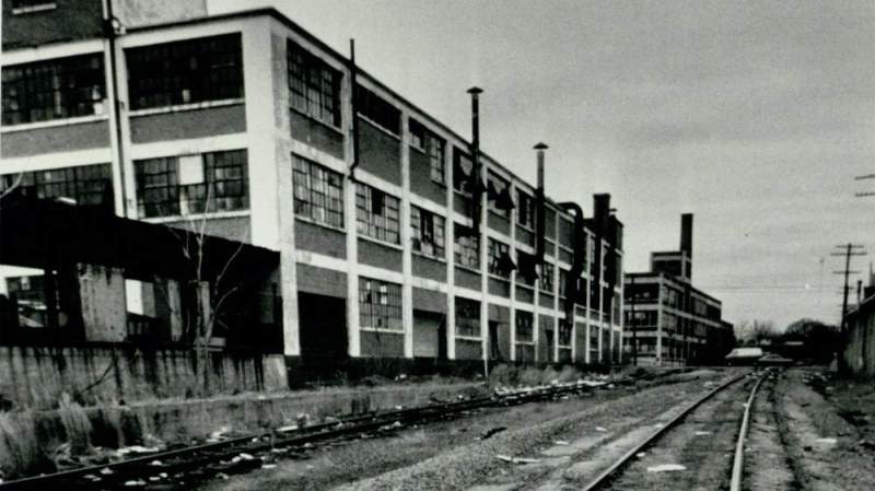 Lofts at Reynoldstown Crossing in 1985. Photo credit: AJC.