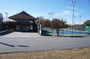 Belton Tennis Center clubhouse