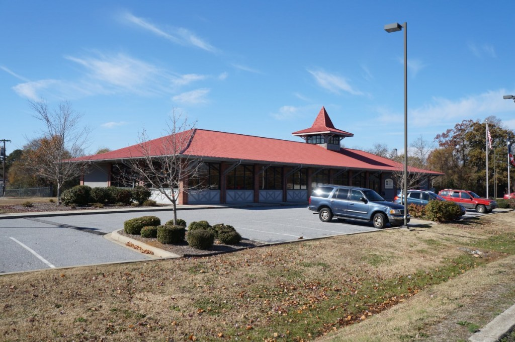 The Belton branch of the Anderson County Library