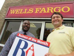 pix - Biz of Month Wells Fargo Waller NealJPG
