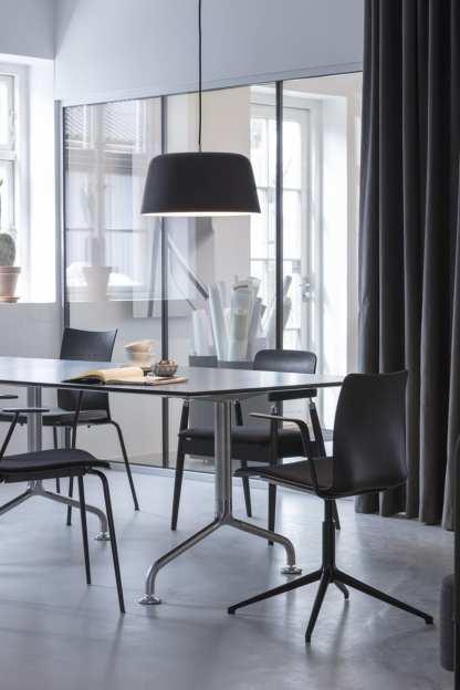 Noir pendel 300 Matt sort | Belysning.online