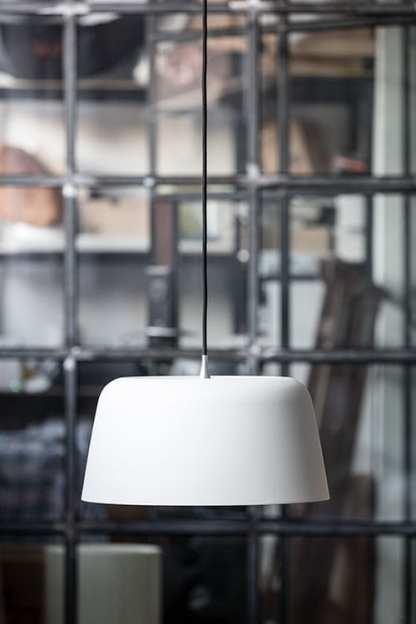 Noir pendel 440 matt Hvit | Belysning.online