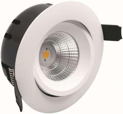 GREVEN TUNE, LED-DOWNLIGHT 230V, 6W, HVIT, IP21 | Belysning.online