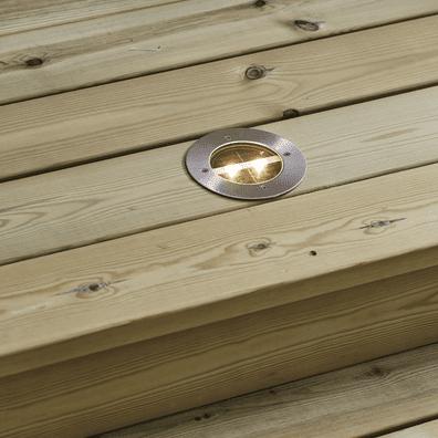 Decklight nedfellbar solcellelykt | Belysning.online
